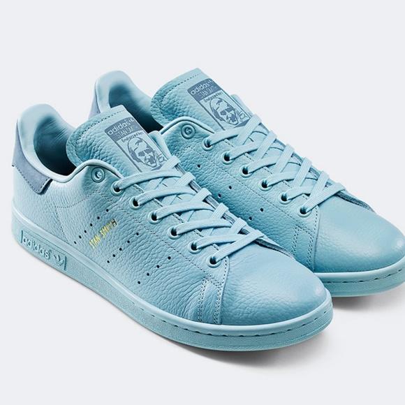 X Pharrell Pastel Blue Sneakers | Poshmark